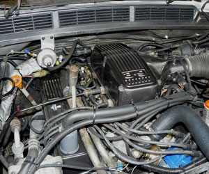 Engine for Land Rover
