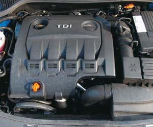 Reconditioned Skoda Engine